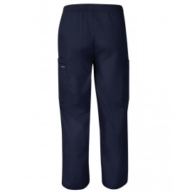 Unisex Scrub Pant with Cargo Pockets (Navy)