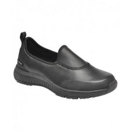 Ladies SuperLite Slip on Shoe (Black)